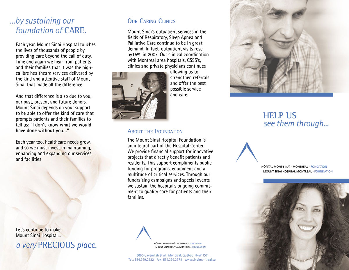 Symphonie Communications | Mount Sinai Hospital Foundation
